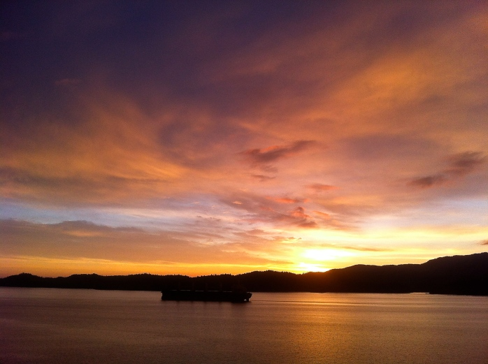Prince Rupert sunset (iPhone)