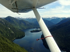 But once in the air - the scenery is pretty spectacular!