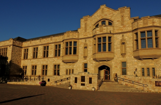 Convocation Hall, University of Saskatchewan campus in Saskatoon.
