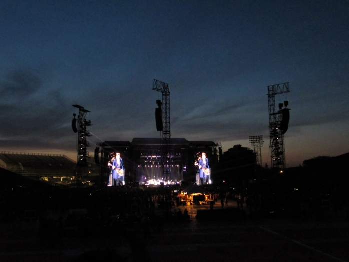 Paul McCartney Under A Saskatchewan Sky