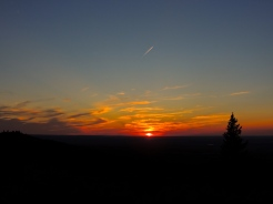Sunset at the Lookout Point - Cypress Hills Interprovincial Park
