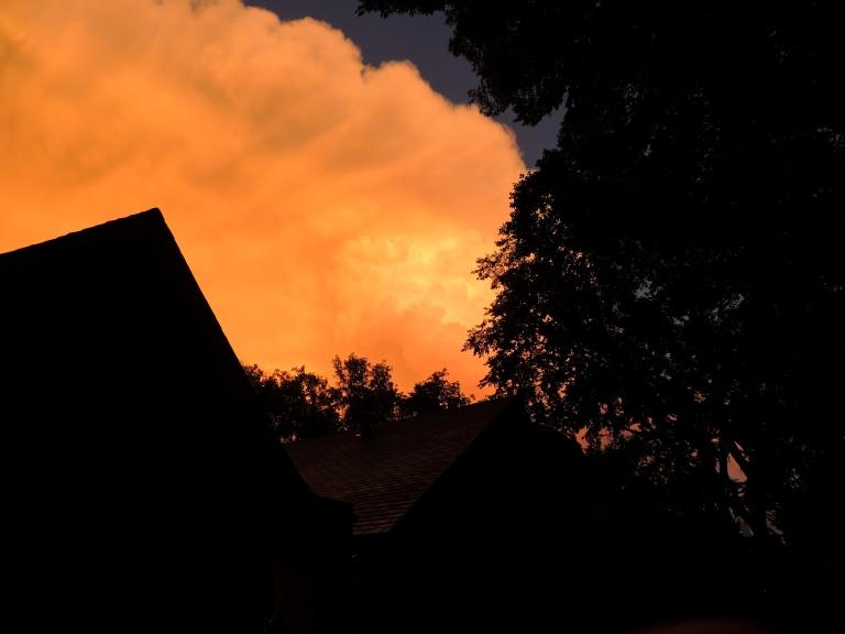 sunset storm clouds 3
