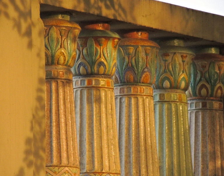 I'm pretty sure I have pictures of these columns in every season!