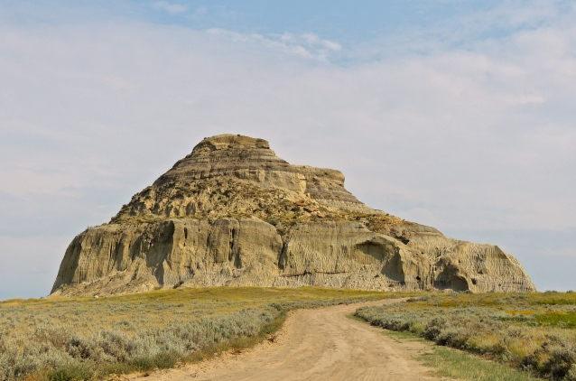 Castle Butte, Southern Saskatchewan, August 2013