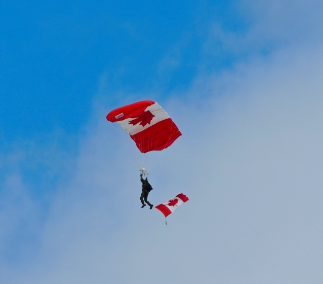Parachutist - Labour Day Classic 2