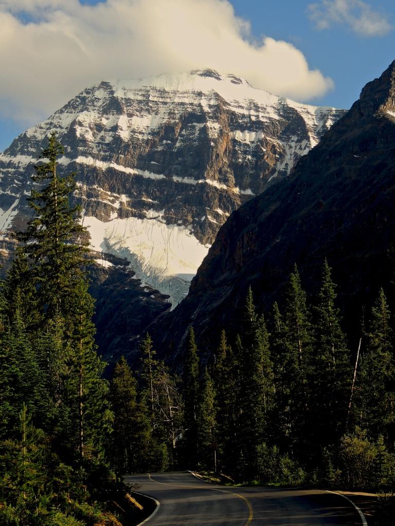 Roada to Mount Edith Cavell, Jasper, Alberta, July 2012