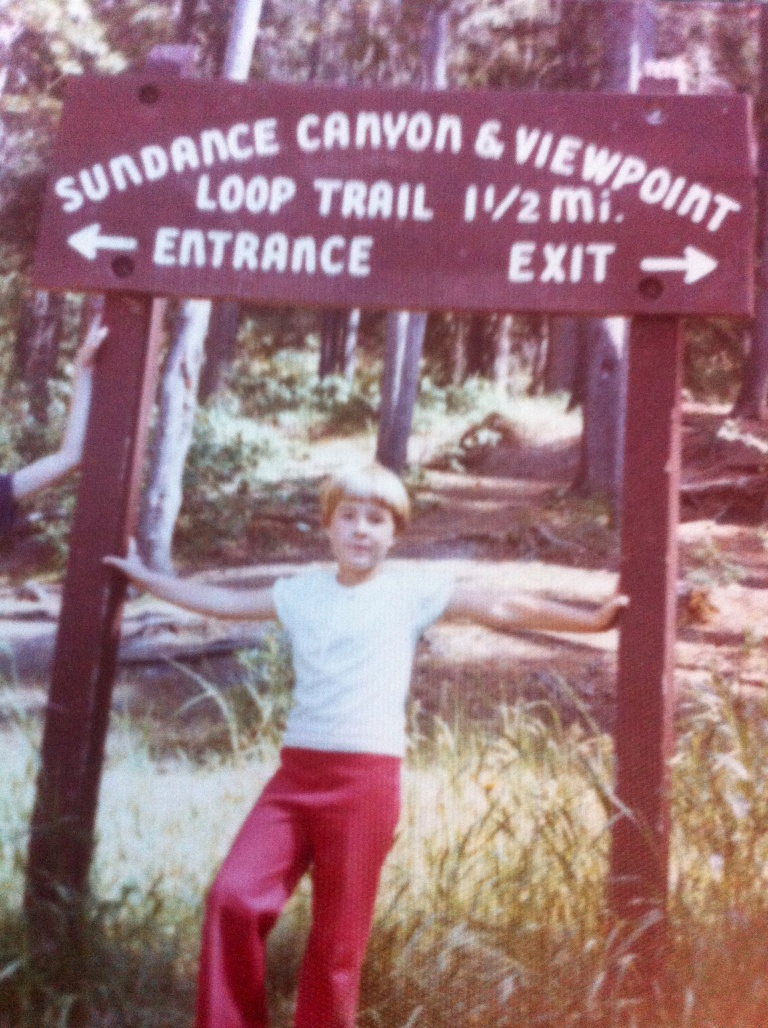 me in Banff - 1978 or 79