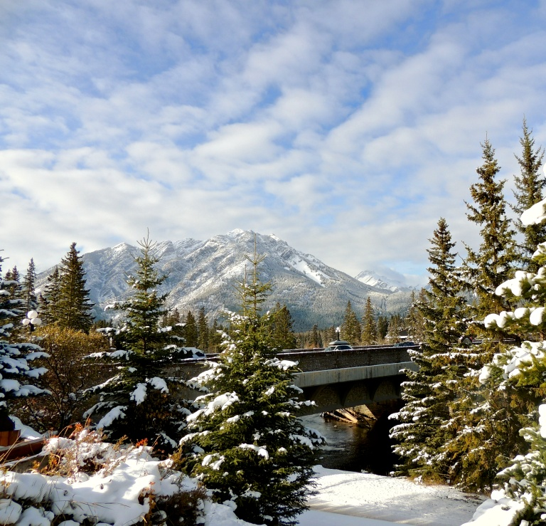 One of my favourite pics I took in Banff last year...