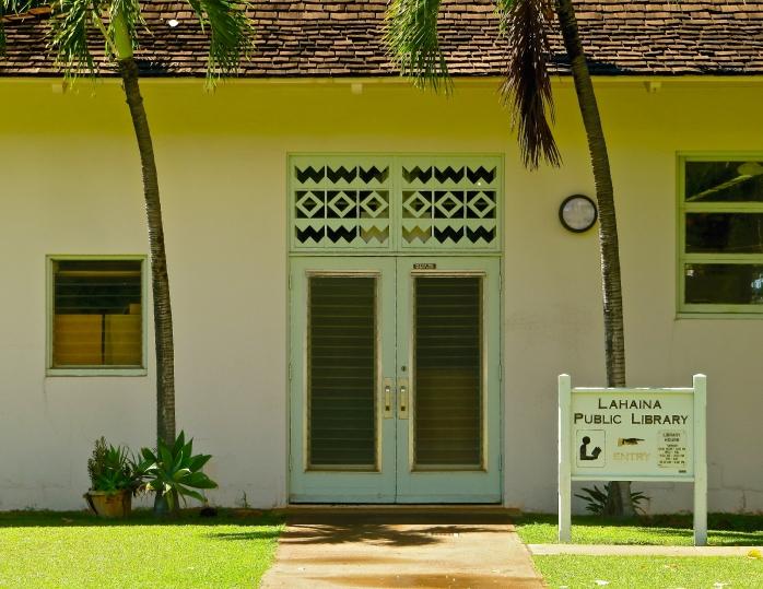 Lahaina Public  Library 2