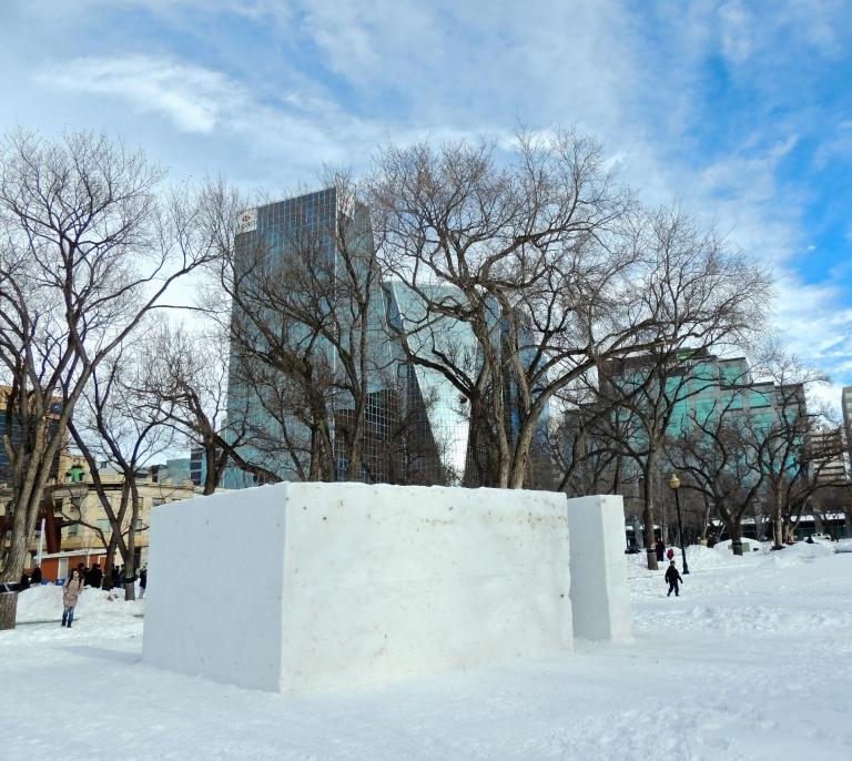 Dunlop Art Gallery, Snow Gallery
