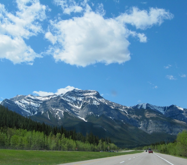going through Banff, June 2011