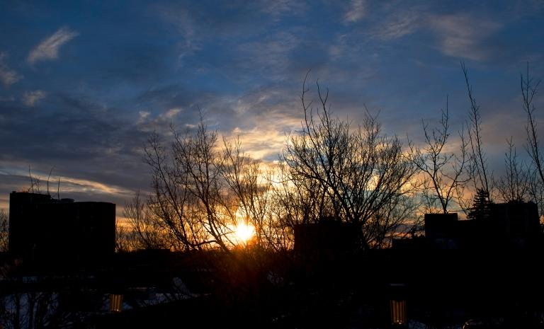 February 27 sunset