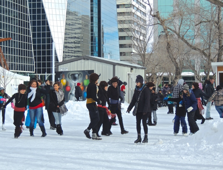 ice and fire festival Victoria Park