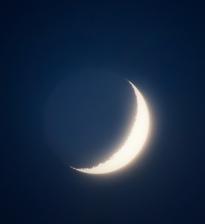 moon from my balcony