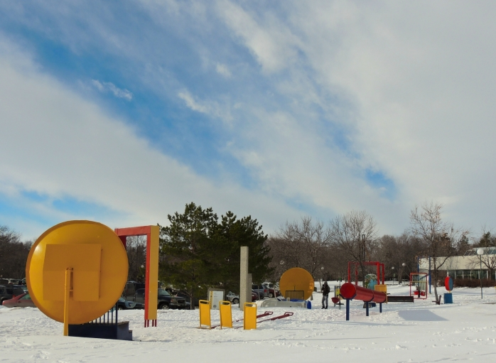 playground, Saskatchewan Science Centre