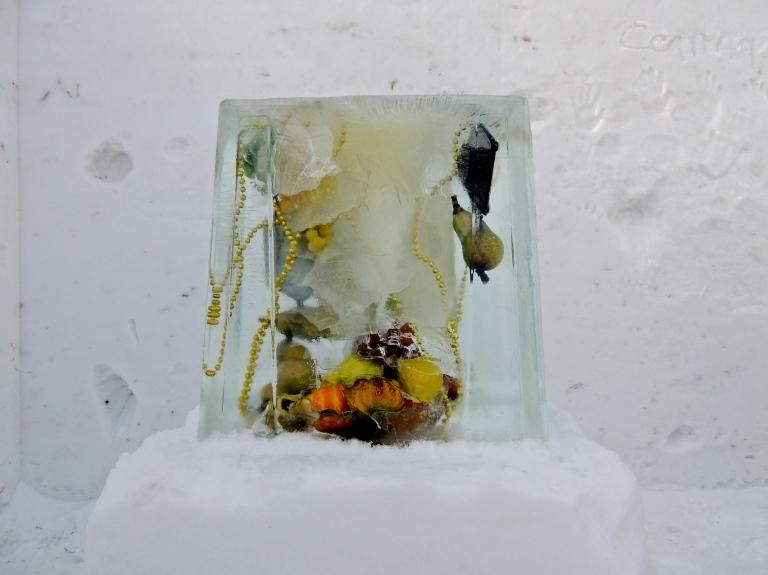 yellow, Dunlop Art Gallery, Snow Gallery
