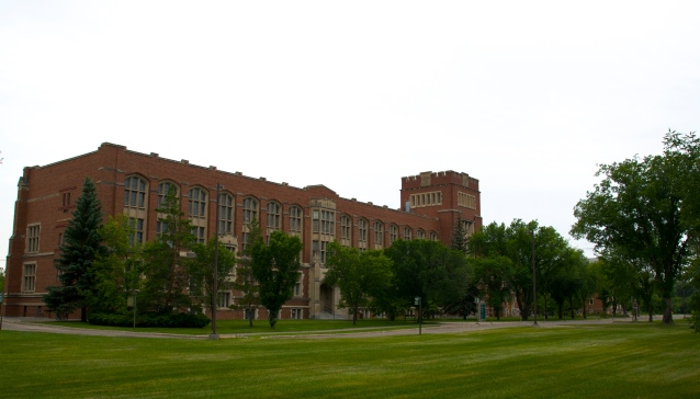 College Building, UofR College Avenue Campus
