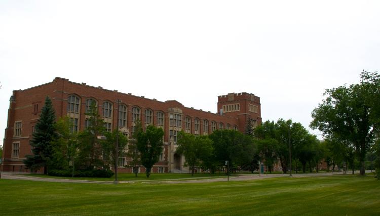 College Building, UofR College Avenue Campus