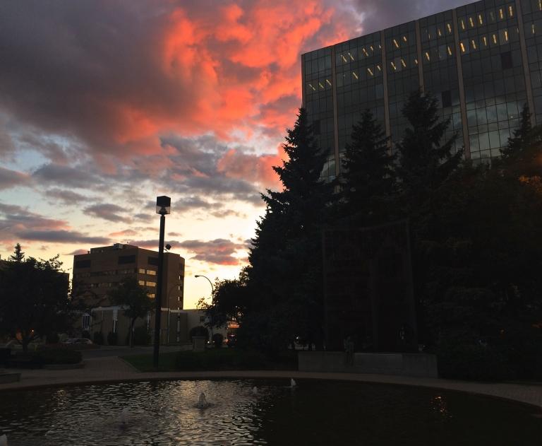 Thursday night sunset 3