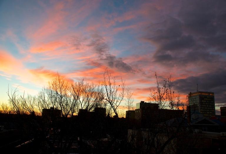 October 22 sunset