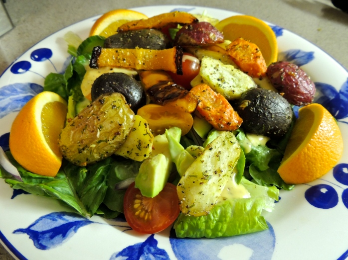 Roasted Vegetable Salad 2