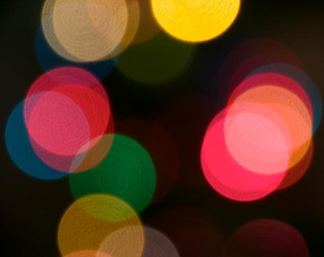 Kim's Christmas lights 2014 three