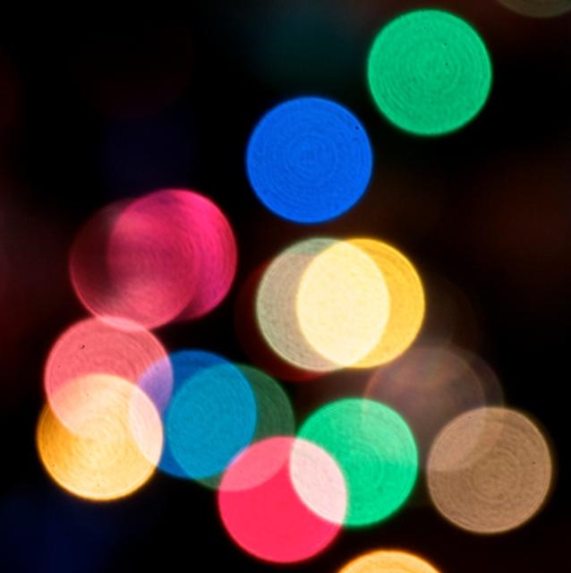 Kim's Christmas lights 2014 two