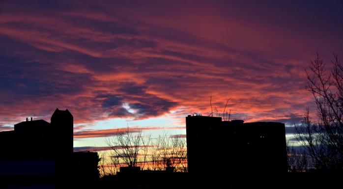 January sunset 3