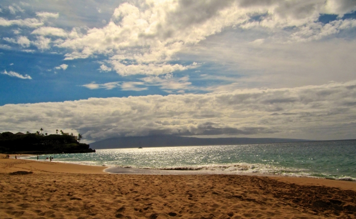 Kaanapali Beach in the afternoon - March 2011