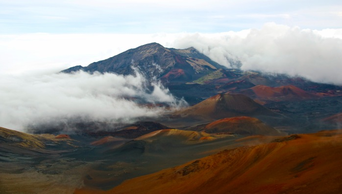 Haleakala National Park - crater - March 7