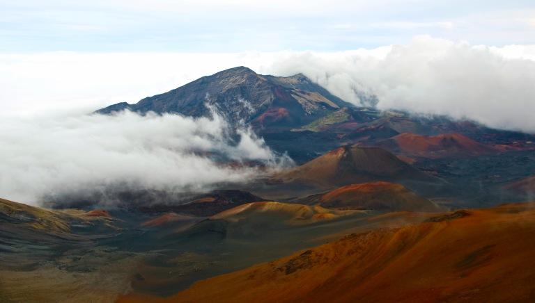Haleakala National Park - crater - March 7