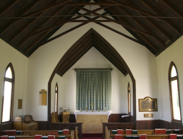 interior St. Nicholas Anglican Church