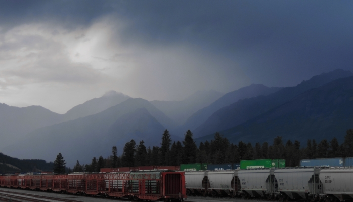 Jasper Railway tracks