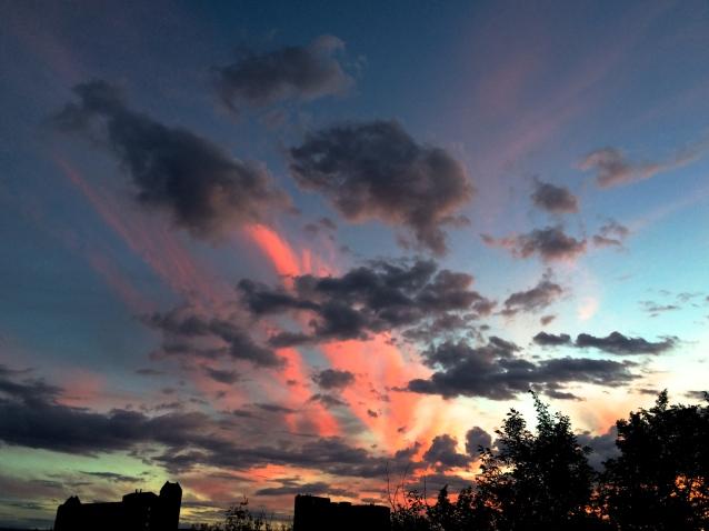 A Tuesday Sunset