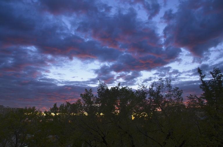 Sunday in September Sunset
