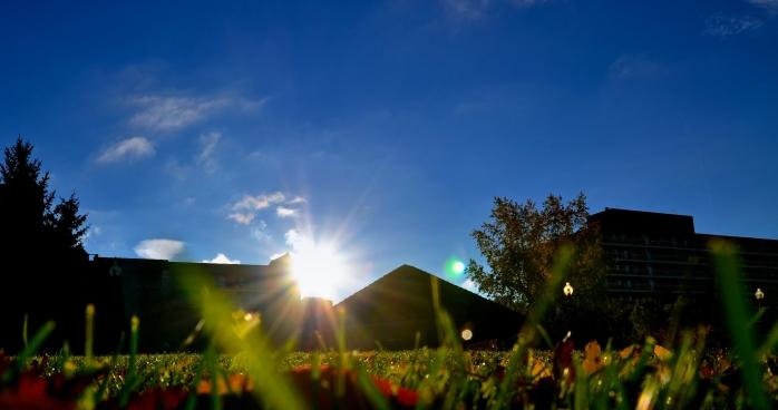 sunny fall days