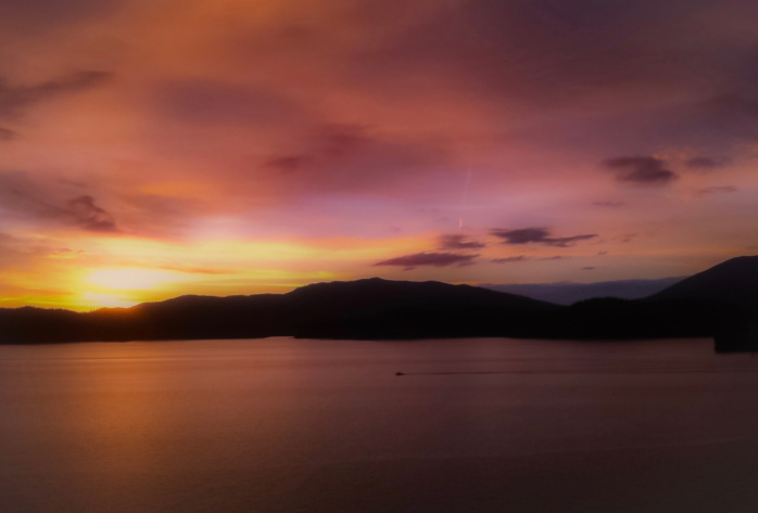 a Prince Rupert sunset