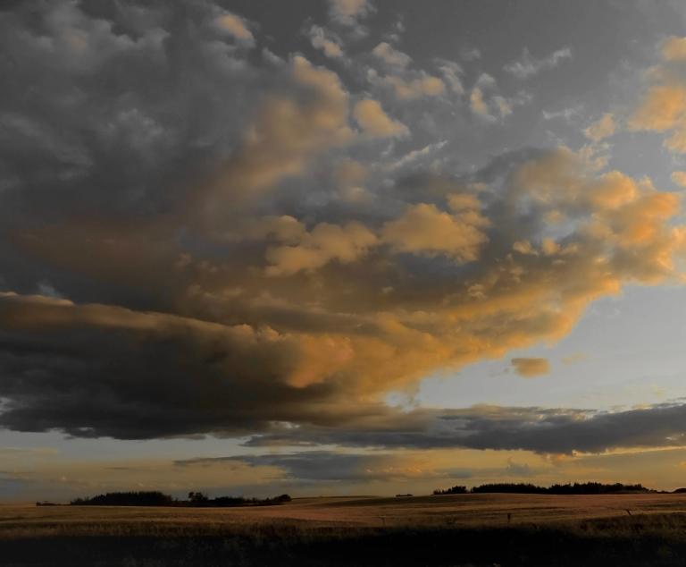 clouds on the prairies 1