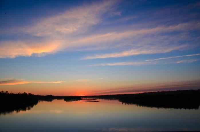 North Saskatchewan River Sunset 2-2