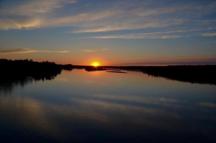 North Saskatchewan River Sunset-2