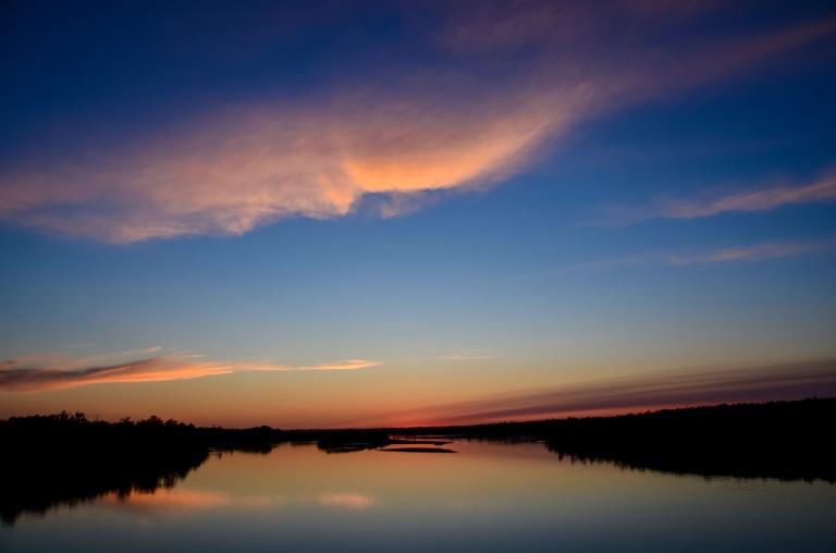 North Saskatchewan River Sunset 3-2