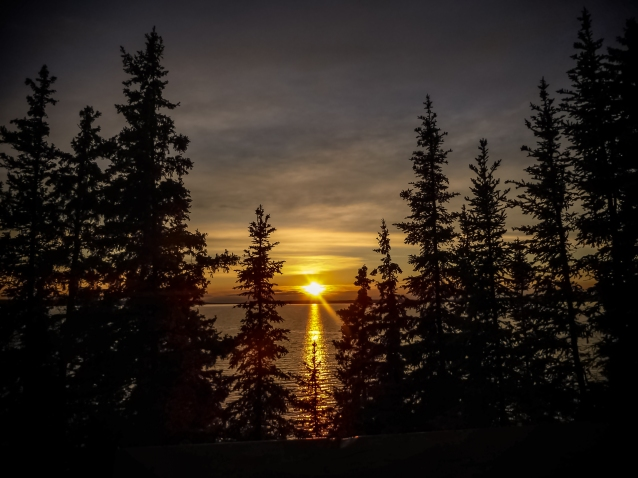 Prince Albert National Park Sunset
