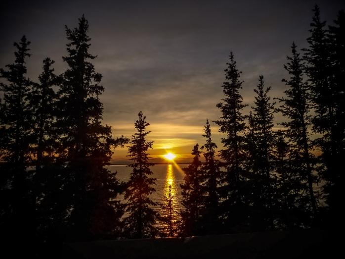Prince Albert National Park Sunset