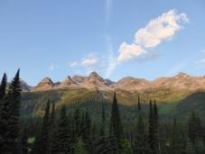 views from the Tamarack Lodge