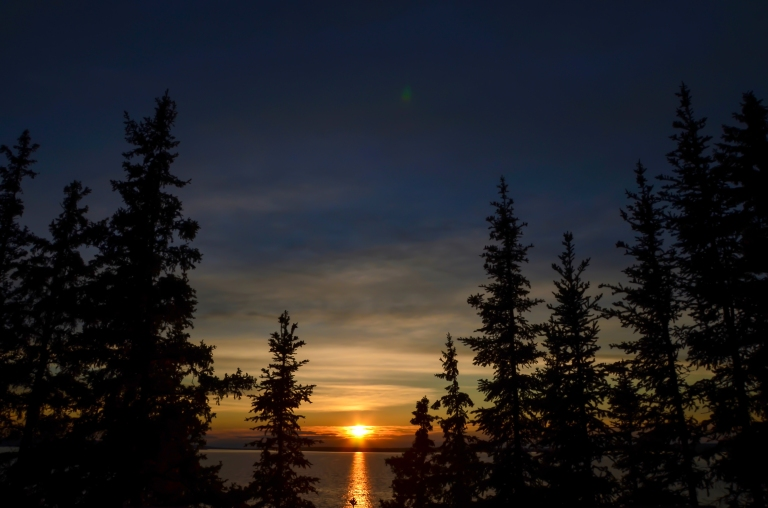 Prince Albert National Park sunset - June 2016-2