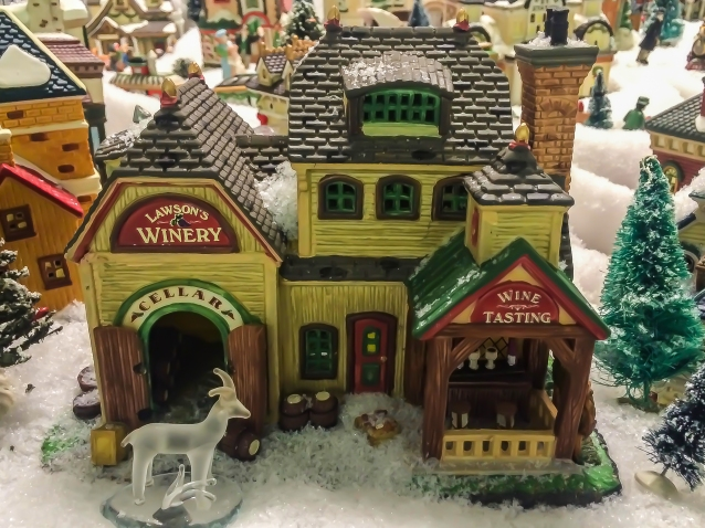 winery-christmas-village