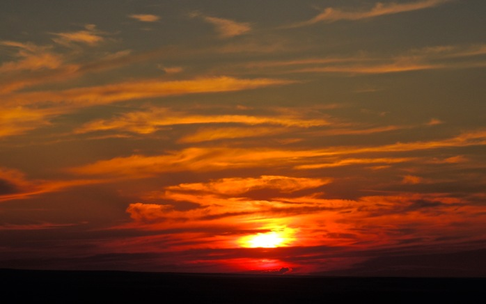 Cypress Hills Sunset 1