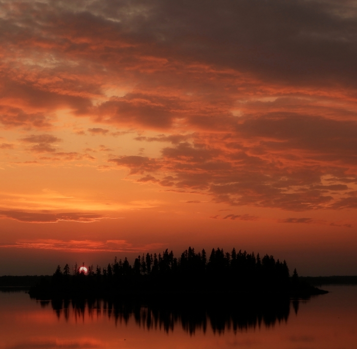 Elk Island Sunset 3