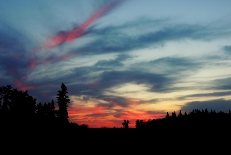 Elk Island Sunset in 2012