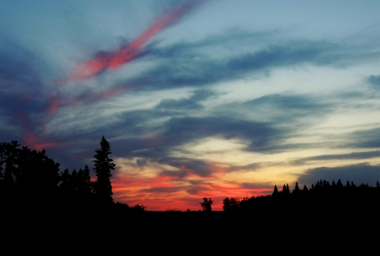 Elk Island Sunset in 2012